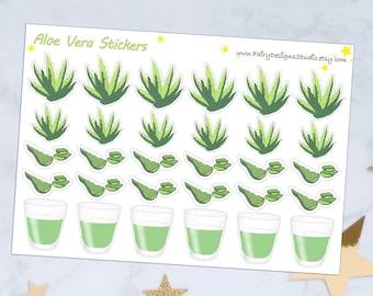 Aloe Vera Planner Stickers