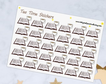 Tea Planner Stickers