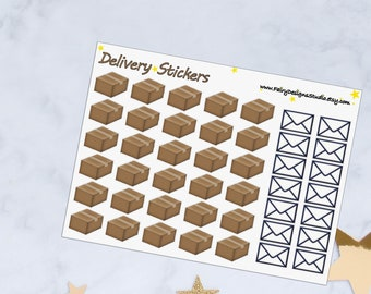 Delivery Planner Stickers