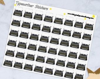 Typewriter Planner Stickers