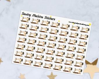 Sewing Machine Planner Stickers