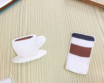 Coffee Vinyl Stickers