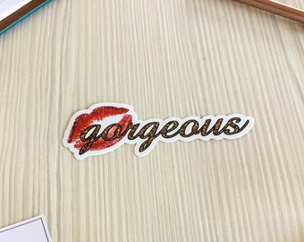 Vinyl Stickers - 'Gorgeous'