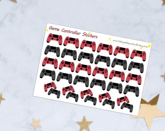 Game Controller Planner Stickers