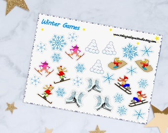 Winter Planner Stickers