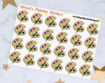 Painting Planner Stickers