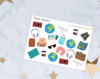 Travel Planner Stickers