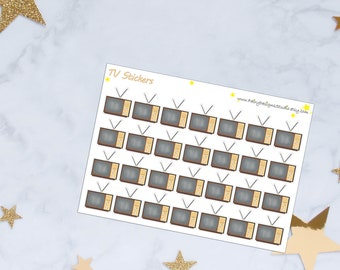 TV Planner Stickers