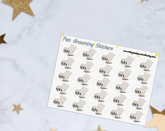 Pet Grooming Planner Stickers