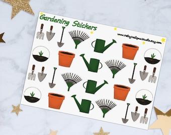 Gardening Planner Stickers