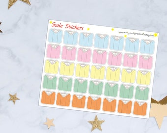 Scale Planner Stickers