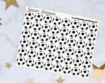 Soccer/Football Planner Stickers