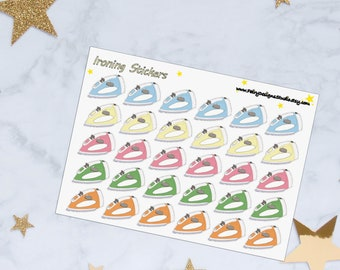 Ironing Planner Stickers