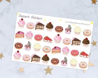 Dessert Planner Stickers
