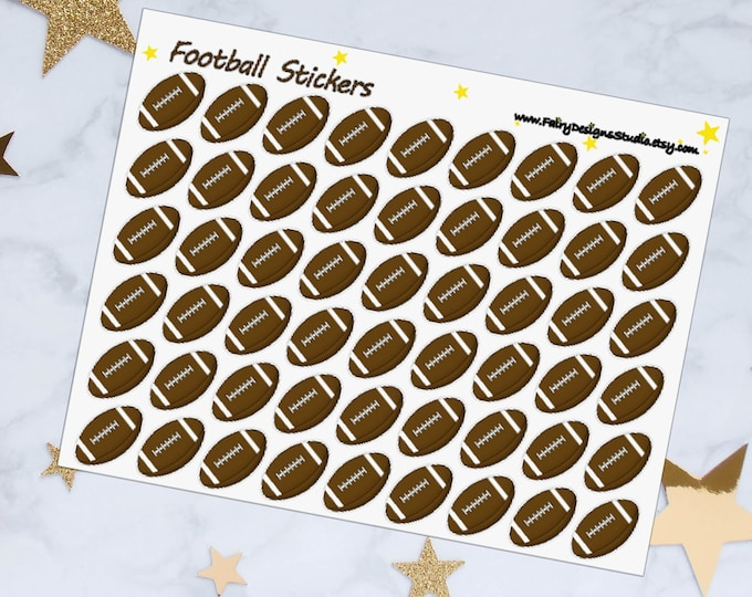 American Football Planner Stickers