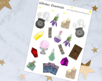 Witches Essentials PlannerStickers