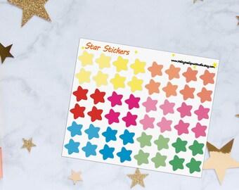 Stars Planner Stickers