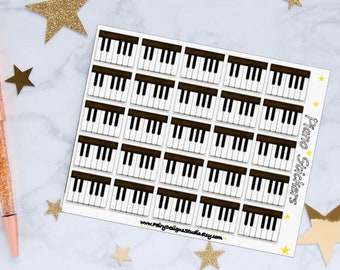 Piano Planner Stickers