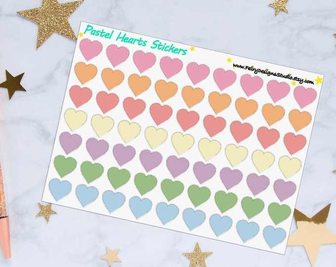 Heart Planner Stickers