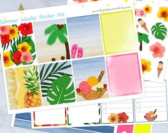 Summer Planner Sticker Kit
