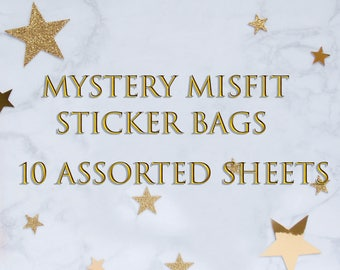 Mystery Misfit Planner Stickers