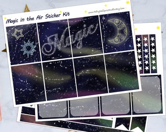 Magic in the Air Planner Sticker Kit