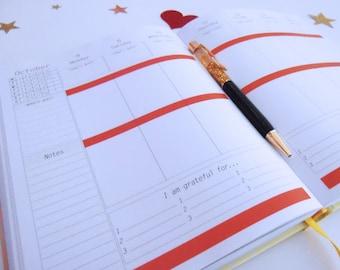 Weekly Planner 2018, Planner 2018, Bullet Journal, 2018 Agenda, Monthly Planner 2018, Inspirational Planner