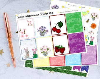 Spring Planner Stickers
