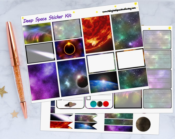 Outer Space Planner Sticker Kit