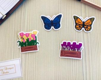 Spring Vinyl Stickers
