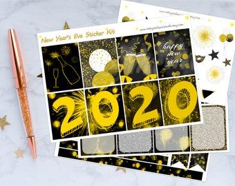 New Year Planner Sticker Kit