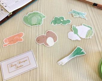 Vegetables Vinyl Stickers