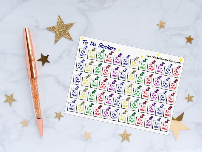 To Do Planner Stickers image 0