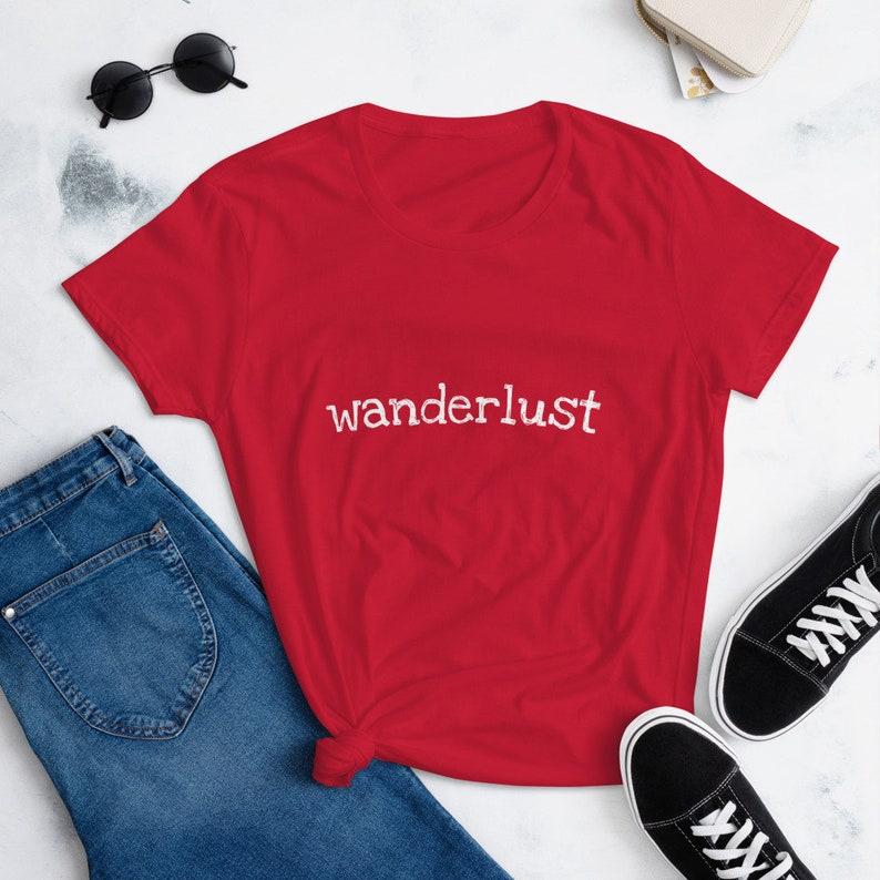 Wanderlust Women/'s T-Shirt