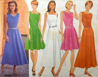 Buttterick 4547 Glamour Collection Misses Dresses Sewing Pattern