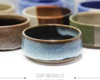 Small Bowl Set, Ceramic Bowl Small, Dip Bowls, Tiny Bowl Pottery, Tapas Bowls, Ring Bowl Dish, Snacking Bowl, Ice Cream Dish, Handmade Bowl