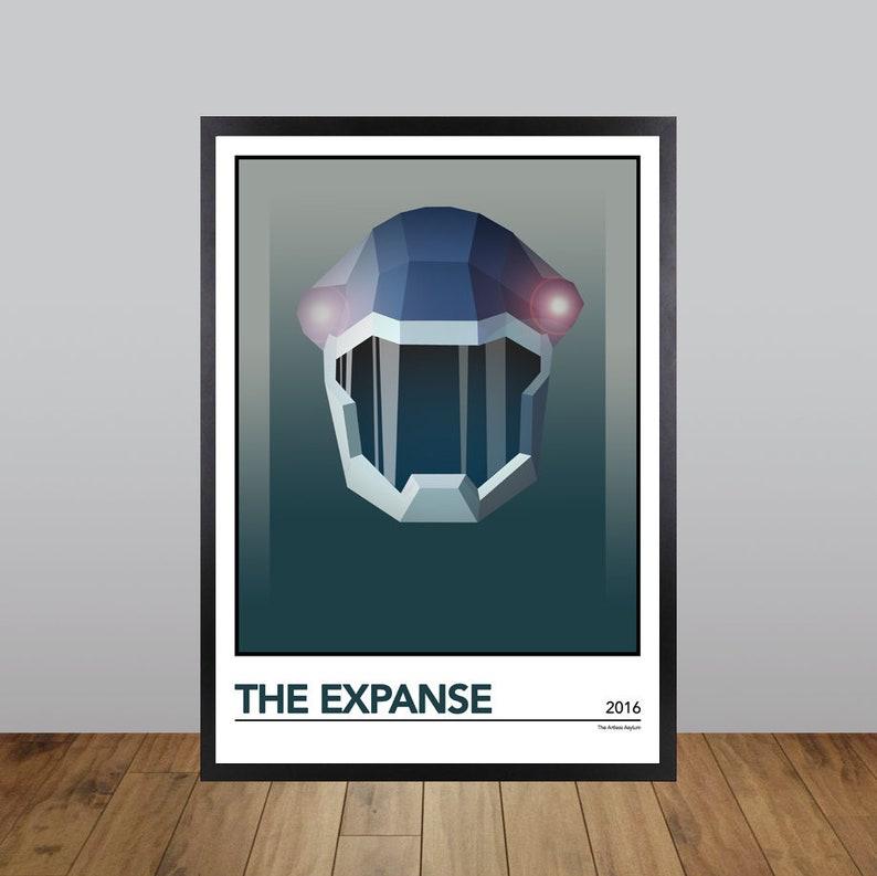 The Expanse Print, Minimalist TV/Film/Movie Poster Unofficial Fan Art