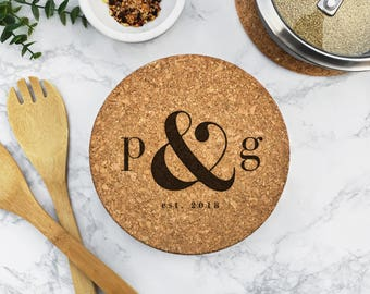 custom engraved trivets custom hot pads hot dish holder plant holder kitchen accessories personalized hot pad christmas gift gt2032 - Kitchen Hot Pads