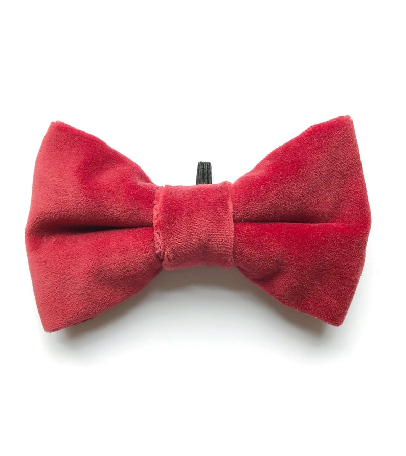 dog accessories Christmas dog bow tie christmas gifts for pets red velvet bow tie gifts for dogs bow ties for dogs,