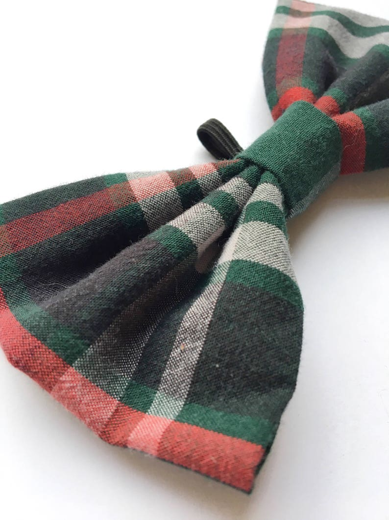 plaid bow tie doggy bow tie tartan dog bow tie gifts for pets gifts for dogs