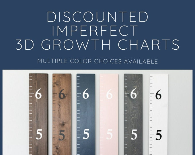 Discounted Sale Imperfect Stock 3D Growth Charts