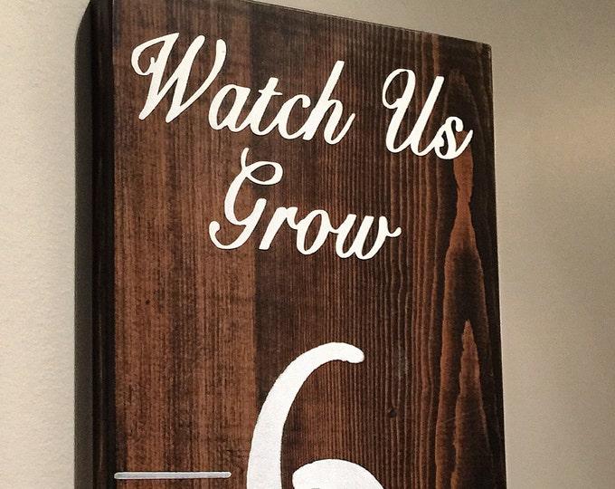 Watch Us Grow Growth Chart Ruler
