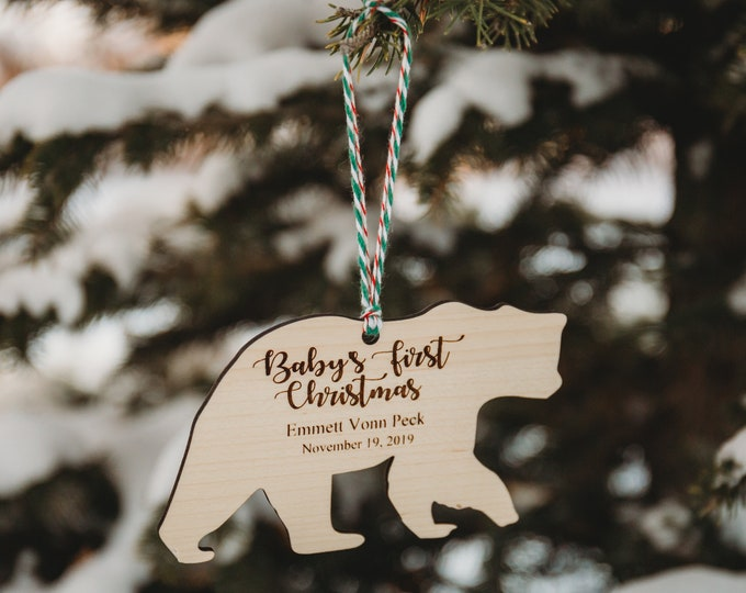 Babies First Christmas Ornament | FREE SHIPPING