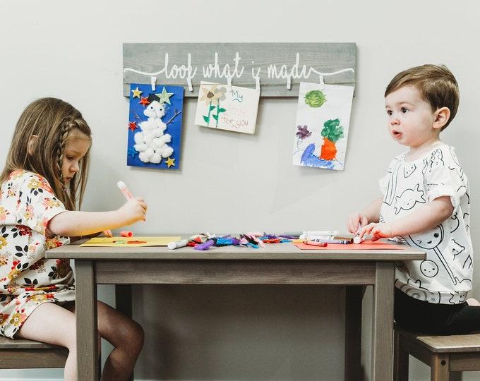 "Kids Art Display Sign | 24"""