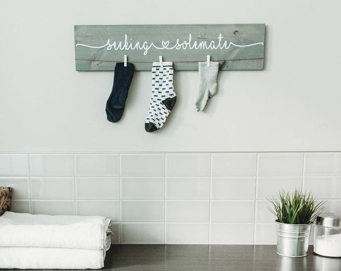 Laundry Room Decor Sign |  24""