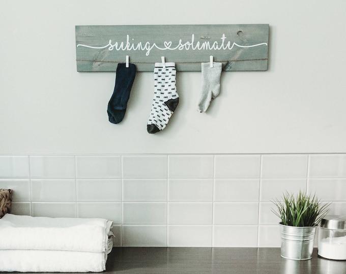 "Laundry Room Decor Sign |  24"""