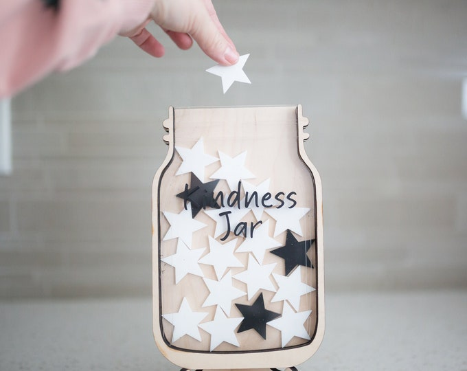 Kids Kindness Jar | Kids Reward Jar | Personalized Kids Reward Jar | Reward Chart | Incentive Chart For Kids | Reward Tracker | Token Chart