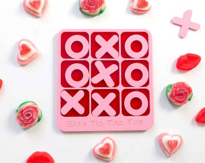 Personalized Tic Tac Toe Game