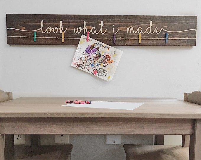 Look What I Made Sign | 36""