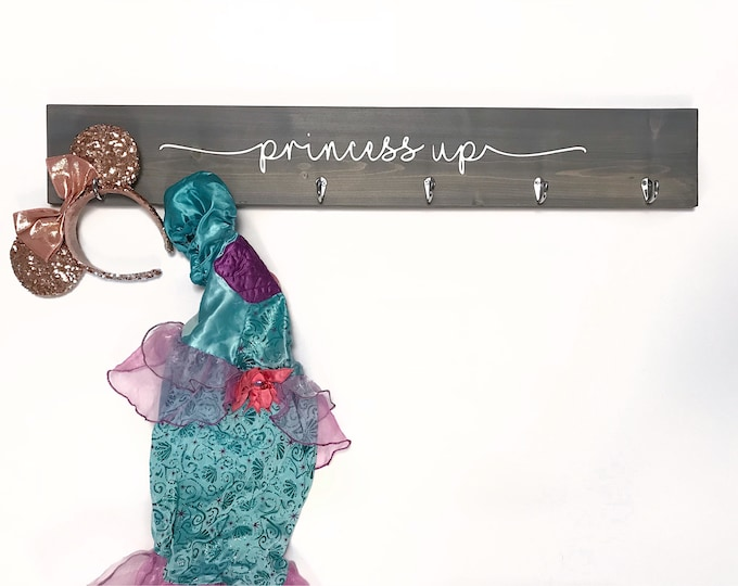 "3D Kids Dress Up Clothes Rack 36"" | Princess Decor"